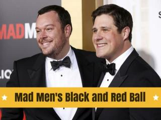 Mad Men's Black and Red Ball