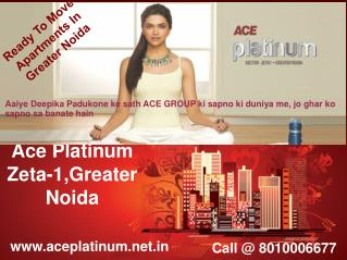 Ace platinum - Ready To Move Apartments In Greater Noida
