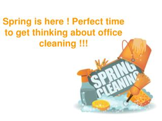 6 Spring Cleaning Tips for Your Office