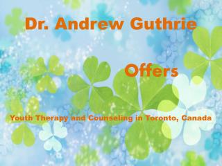 Youth Therapy and Counseling Services in Toronto, Canada