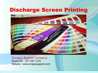 Discharge Screen Printing: Why Was the Technique Developed