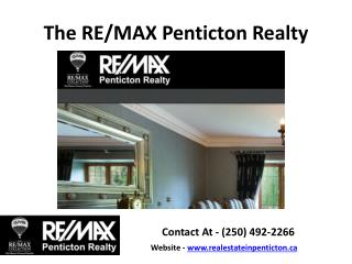 Real Estate Penticton Bc