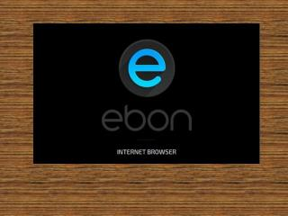 Remove Ebon Browser: process to uninstall it