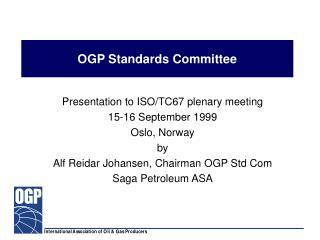 OGP Standards Committee