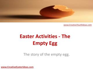 Easter Activities - The Empty Egg