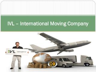IVL – International Moving Company