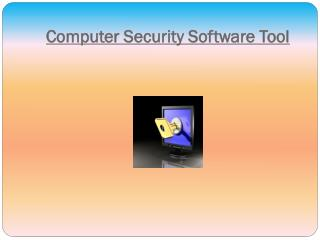 Computer Security Software Tool