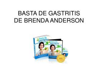 Basta de Gastritis libro pdf Brenda Anderson