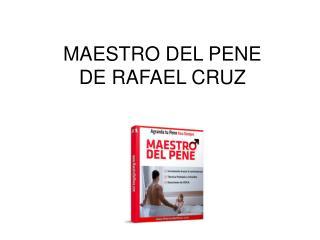 Maestro del Pene libro pdf Rafael Cruz