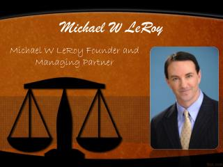 Michael W LeRoy and Florida's Middle District