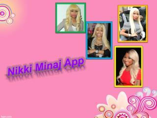 Nikki Minaj Music App