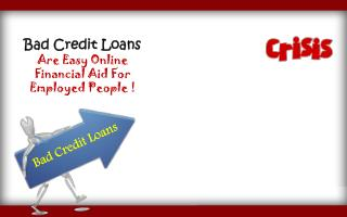 Avail Cash Loans For Bad Credit And Manage Your Needs