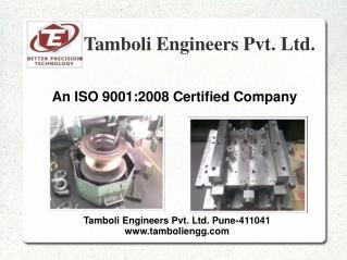 Precision Parts Manufacturer in Pune