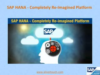 SAP HANA - A Robust In-Memory Computing Platform