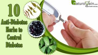 10 Anti-Diabetic Herbs to Control Diabetes or High Blood Sug