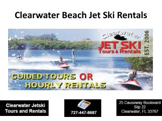 Jet Ski In Clearwater