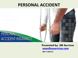Buy personal accident insurance policy