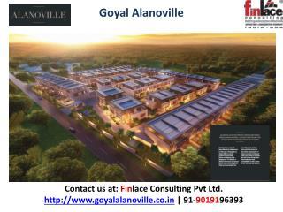 Goyal Alanoville | Price List | Yelahanka Bangalore
