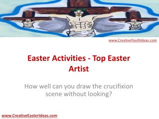 Easter Activities - Top Easter Artist
