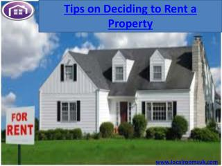 Rent a Property