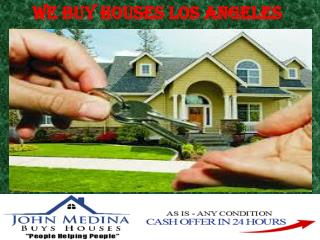 Buy your house in los angeles