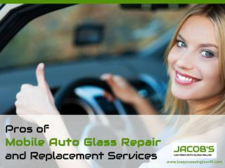 Perks of Mobile Windshield Repair in Dallas