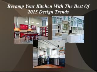 Best Kitchen Design Trends for 2015