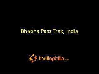 Bhabha Pass Trek, India