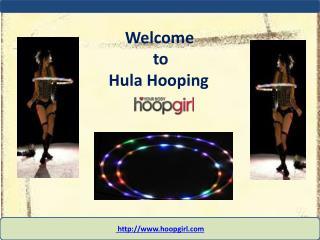 Hula Hooping To Lose Weight