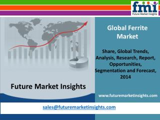 Ferrite Market - Global Industry Analysis and Opportunity As