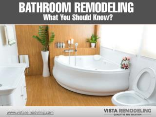 Bathroom Remodeling in Denver, Co - What You Should Know!