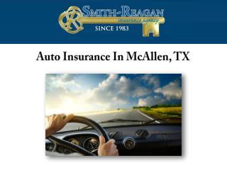 Auto Insurance, McAllen, TX