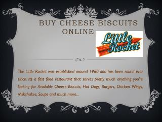 Buy frozen cheese biscuits online