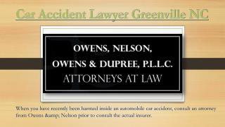 Car Accident Lawyer In Greenville NC