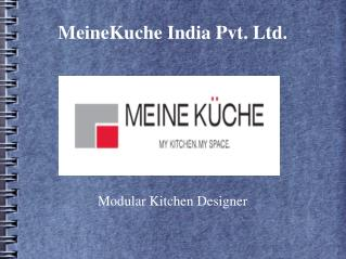 Modular Kitchens in Pune: MeineKuche