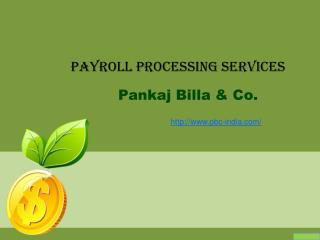 Payroll processing service in Delhi NCR
