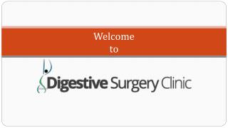 Services by Digestive surgery clinic-2015