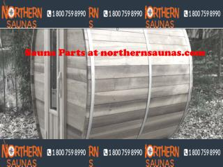 Sauna Parts at northernsaunas.com