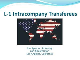 L-1 Intracompany Transferees