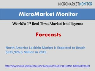 North America Lecithin Market is Expected to Reach $325,926.