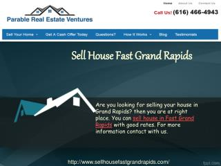 Sell House Fast Grand Rapids
