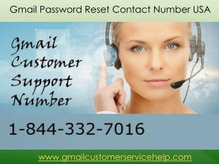 Gmail Password Support 1-844-332-7016 Phone Number