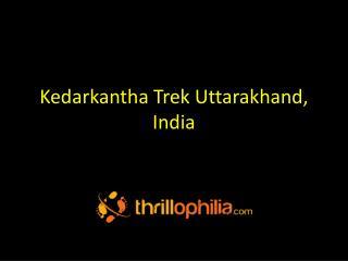 Kedarkantha Trek Uttarakhand, India