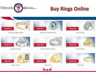 Rings Online- usjewelsandgems.com