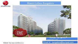 Mantri Lithos Manyata Tech Park, Hebbal Bangalore