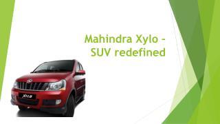 Mahindra Xylo – SUV redefined