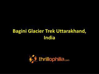 Bagini Glacier, India