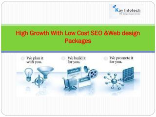 Low Cost SEO &Web design Packages  India