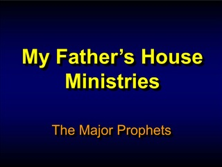 My Father s House  Ministries